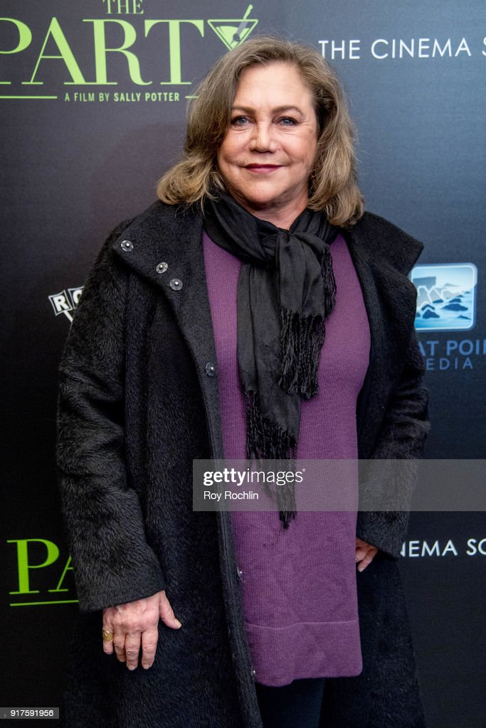 Kathleen Turner attends the screening of 'The Party' hosted by Roadside Attractions and Great Point Media with The Cinema Society at Metrograph on February 12, 2018 in New York City.