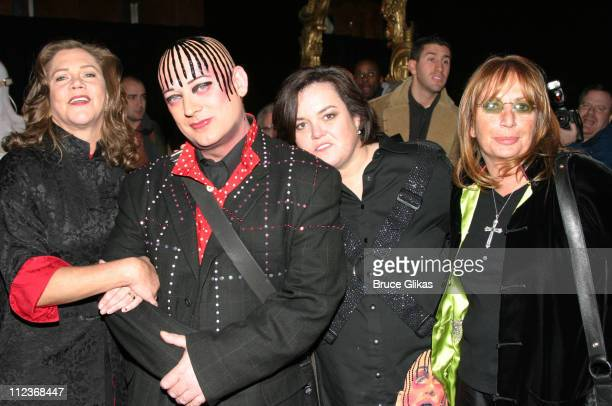 Kathleen Turner Boy George Rosie O'Donnell and Penny Marshall