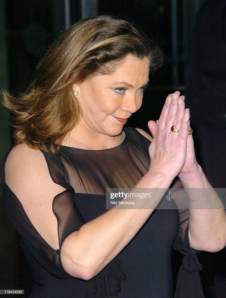 Kathleen Turner during 2006 Laurence Olivier Awards - Arrivals at London Hilton in London, United Kingdom.