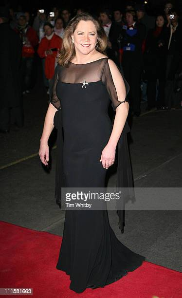 Kathleen Turner during 2006 Laurence Olivier Awards Outside Arrivals at London Hilton in London Great Britain