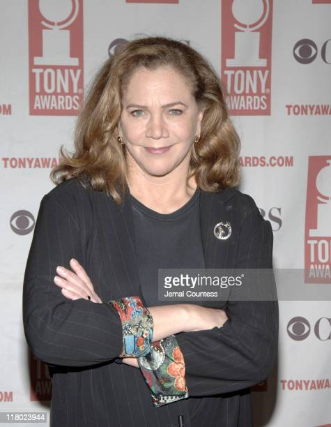 Kathleen Turner during 59th Annual Tony Awards 'Meet The Nominees' Press Reception at The View at The Marriot Marquis in New York City New York...