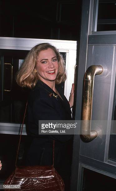 Kathleen Turner during Cat on a Hot Tin Roof Premiere at B Smiths Restaurant in New York City New York United States