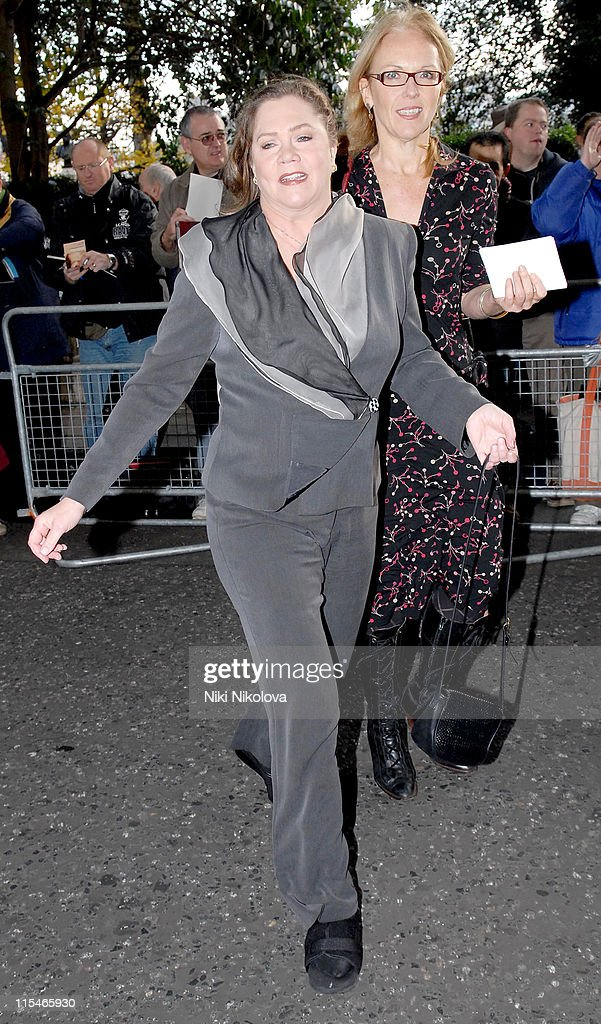 Kathleen Turner during Evening Standard Theatre Awards - Arrivals at The Savoy in London, Great Britain.