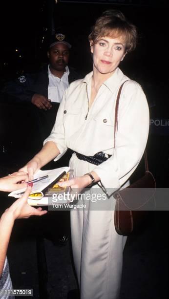 Kathleen Turner during Kathleen Turner Sighting in New York City - June 6, 1995 in New York City, United States.