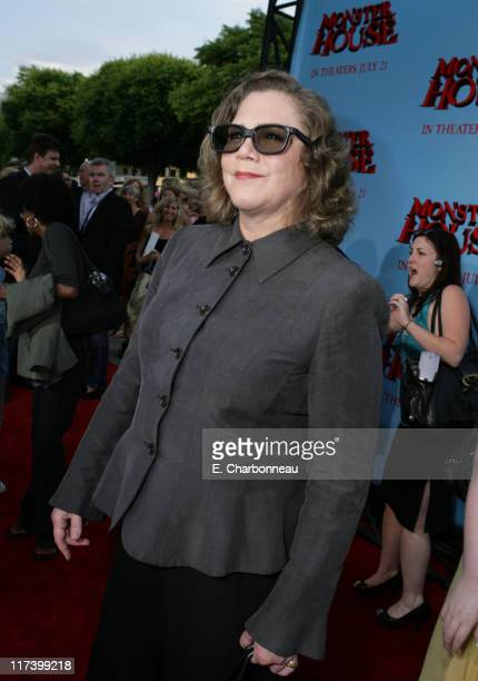 """Kathleen Turner during Los Angeles Premiere of Columbia Pictures """"Monster House"""" at Mann Village in Westwood, California, United States."""
