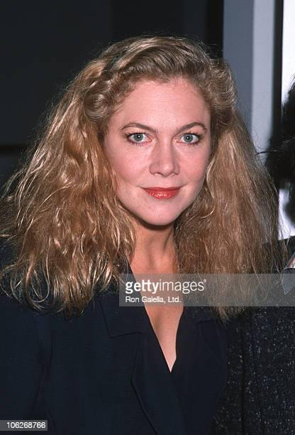 Kathleen Turner during Parents of Cerebral Palsy October 9 1989 at Angelika Film Center in New York City New York United States