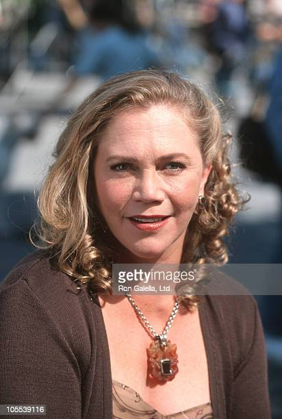 """Kathleen Turner during """"Prince of Central Park"""" Filming - September 1, 1998 at Central Park in New York City, New York, United States."""