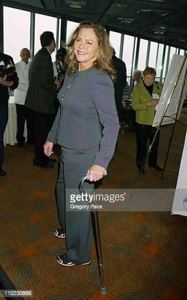 """Kathleen Turner during The 18th Annual Citymeals-on-Wheels """"Power Lunch For Women"""" - Inside Arrivals at The Rainbow Room in New York City, New York,..."""