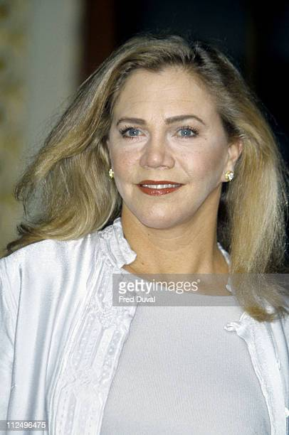 Kathleen Turner during The Graduate Photocall at Guilad Theatre in London Great Britain