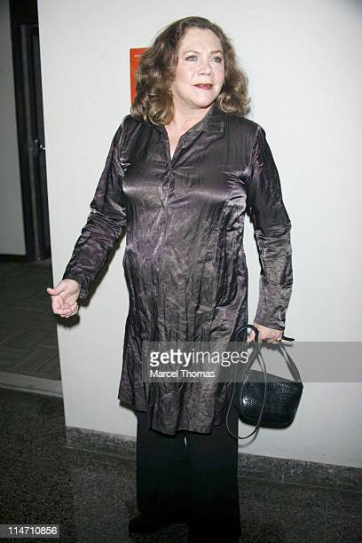Kathleen Turner during Volver Premier at The 44th New York Film Festival at Lincoln Center Alice Tully Hall in New York City New York United States