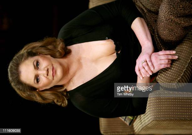 Kathleen Turner during Who's Afraid of Virginia Woolf at the Apollo Theatre in London Photocall at Apollo Theatre in London Great Britain