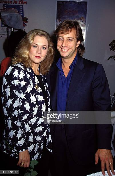 Kathleen Turner Jay Weiss during 1988 Women in Film Lunch in Los Angeles CA United States
