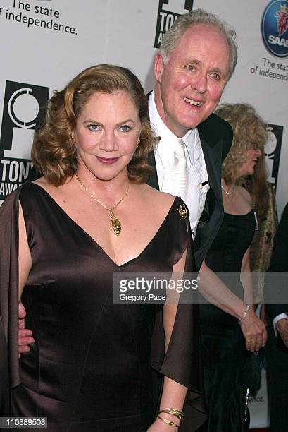 Kathleen Turner nominee Best Performance by a Leading Actress in a Play for Edward Albee's Who's Afraid of Virginia Woolf and John Lithgow nominee...
