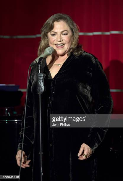 Kathleen Turner performs her onewoman show at Brasserie Zedel on October 31 2017 in London England