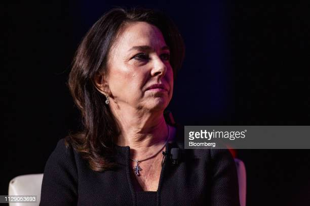 Kathleen Wayton senior vice president and chief information officer of Southwest Airlines Co listens during the US Chamber of Commerce Aviation...