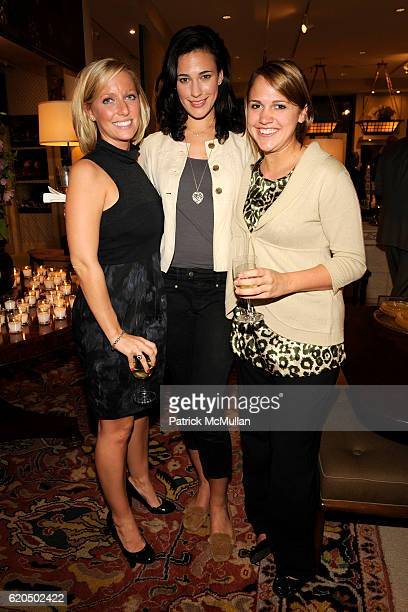 Kathleen Wells Marquin McMath and Sara Lloyd attend Cocktail party to celebrate the opening of THE DUTCH TOUCH ART COMPANY EXHIBITION at JOE NYE on...