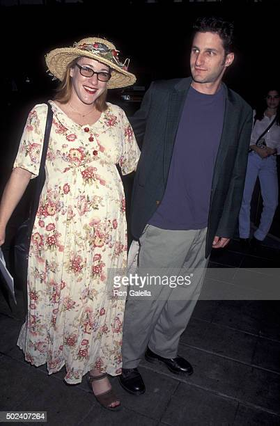 Kathleen Wilhoite and David Harte attend Quality Television Convention Awards on September 23 1995 at the Hollywood Roosevelt Hotel in Hollywood...