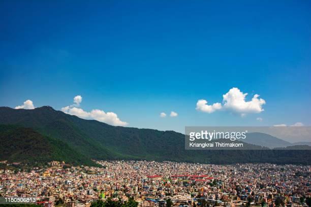 kathmandu city, nepal. - kathmandu stock pictures, royalty-free photos & images