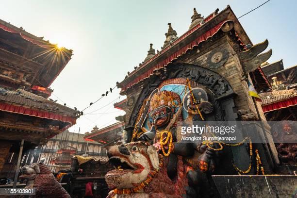kathmandu durbar square, kathmandu, nepal - バクタプル ストックフォトと画像