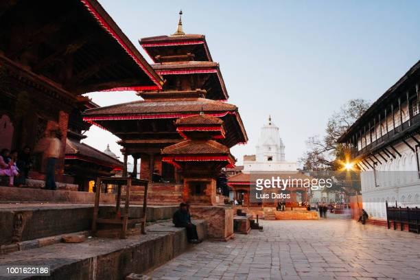 kathmandu durbar square - カトマンズ ダルバール広場 ストックフォトと画像