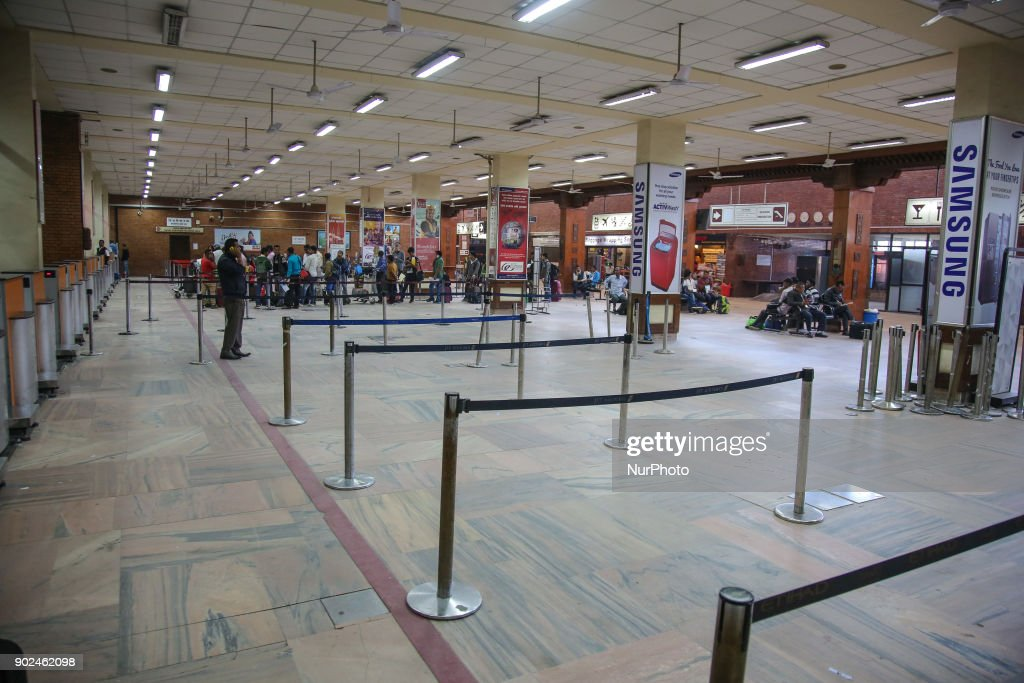 Kathmandu International Airport : News Photo