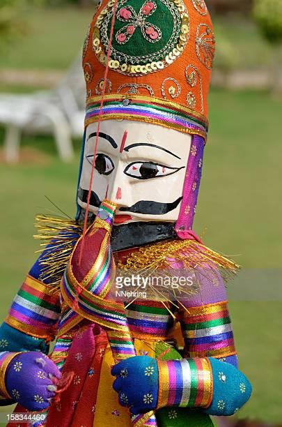 kathputli wood puppet, India