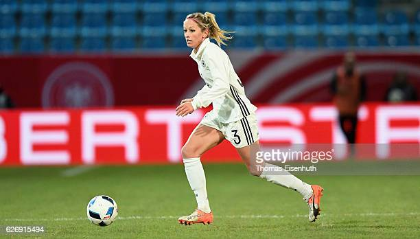 Kathrin Hendrich of Germany during the women's international friendly match between Germany and Norway at community4you ARENA on November 29 2016 in...