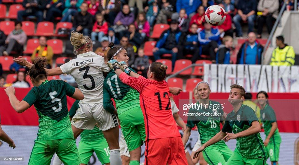 Germany Women's v Slovenia Women's - 2019 FIFA Women's World Championship Qualifier