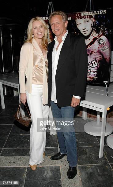 Kathrin Nicholson and Don Felder attend the Red Carpet LA Premiere of The Wizard Of Gore the Los Angeles Film Festival at the Majestic Crest Theater...