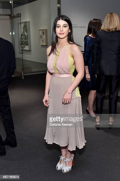 Kathrine Herzer attends Hammer Museum's Gala in the Garden Sponsored by Bottega Veneta at Hammer Museum on October 10 2015 in Westwood California