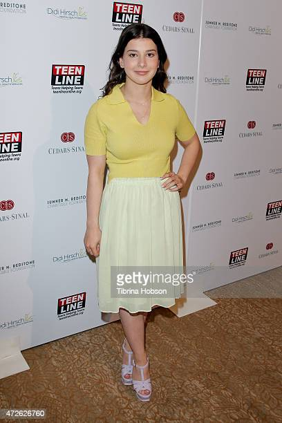 Kathrine Herzer attends the Teen Line Luncheon at The Beverly Hilton Hotel on May 7 2015 in Beverly Hills California