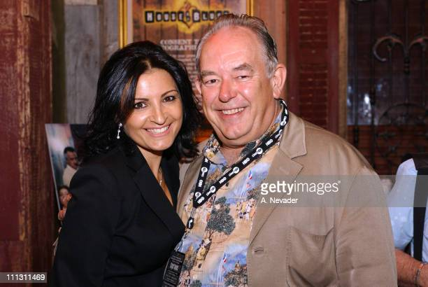 Kathrine Narducci and Robin Leach during HBO Las Vegas Fourth Season Premiere Party for The Sopranos at House of Blues Mandalay Bay Hotel and Casino...