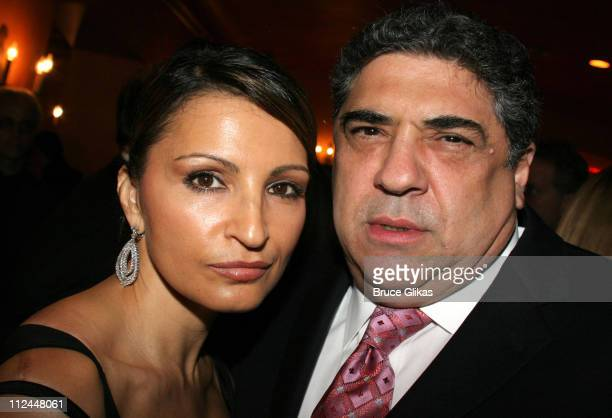 Kathrine Narducci and Vincent Pastore