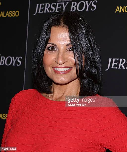 Kathrine Narducci attends a special New York screening reception for 'Jersey Boys' hosted by Angelo Galasso at Angelo Galasso on June 2014 in New...