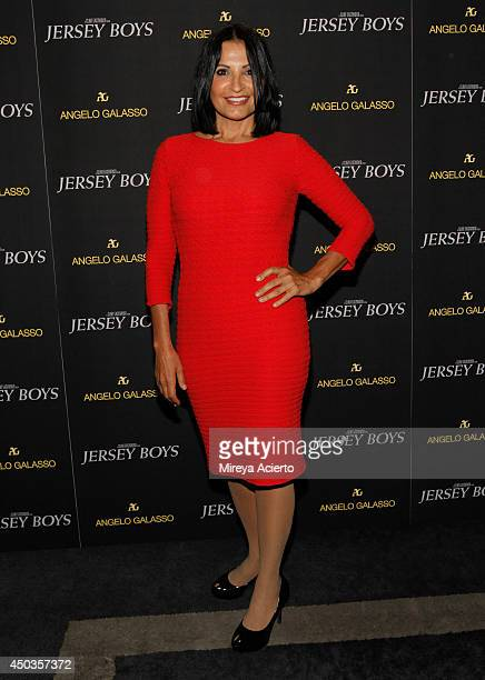 Kathrine Narducci attends the Jersey Boys Special Screening dinner at Angelo Galasso House on June 9 2014 in New York City