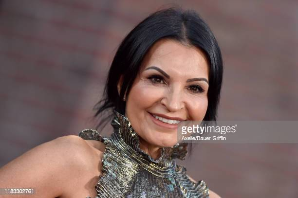 Kathrine Narducci attends the Premiere of Netflix's The Irishman at TCL Chinese Theatre on October 24 2019 in Hollywood California