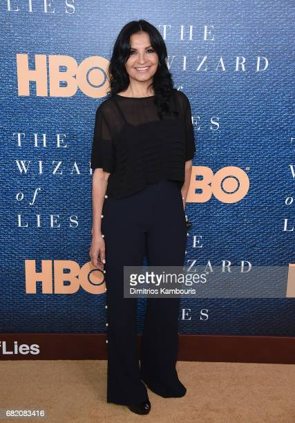 Kathrine Narducci attends the The Wizard Of Lies New York Premiere at The Museum of Modern Art on May 11 2017 in New York City
