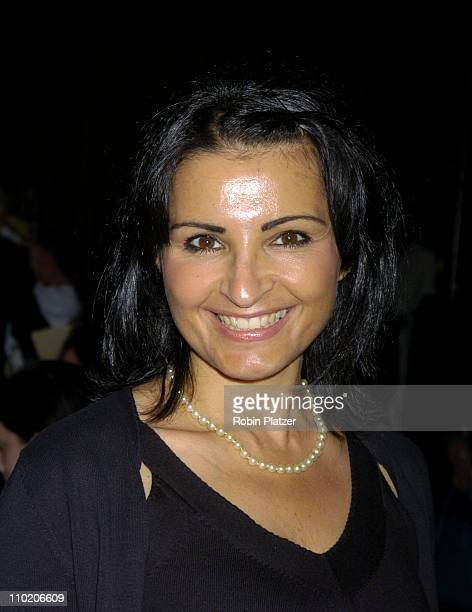 Kathrine Narducci during Dennis Basso Fashion Show Fall/Winter 2004 at Cipriani in New York City New York United States