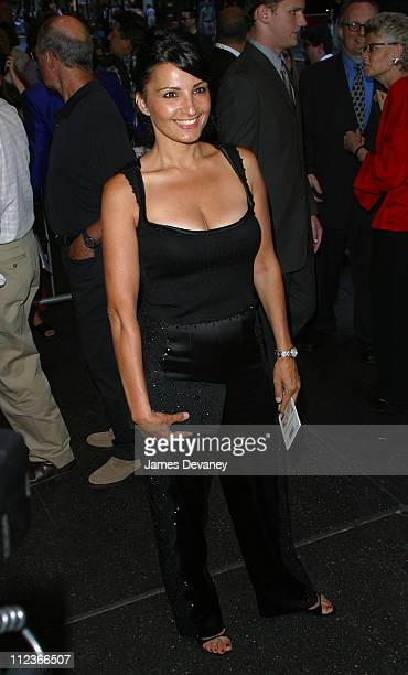 Kathrine Narducci during Frankie and Johnny in the Clair de Lune Opening Night at Belasco Theatre in New York City New York United States