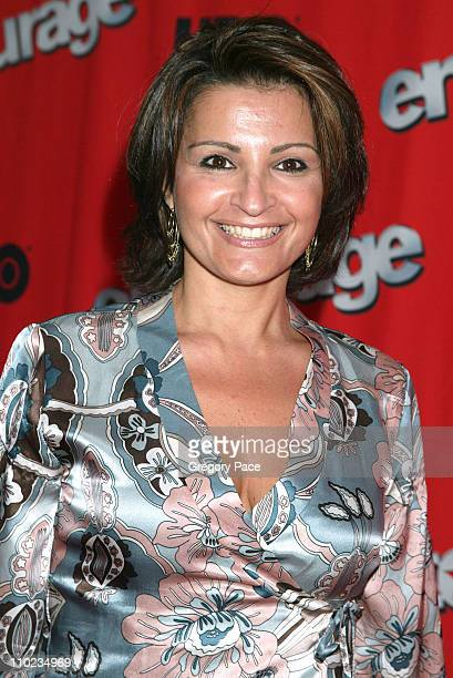 Kathrine Narducci during HBO's Entourage Season 2 New York City Premiere at The Tent at Lincoln Center Damrosch Park in New York City New York United...