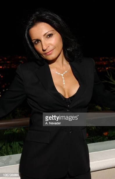 Kathrine Narducci during Katherine Narducci Portrait Shoot Before the Las Vegas HBO Premiere of The Sopranos Fourth Season at Mandalay Bay Hotel and...