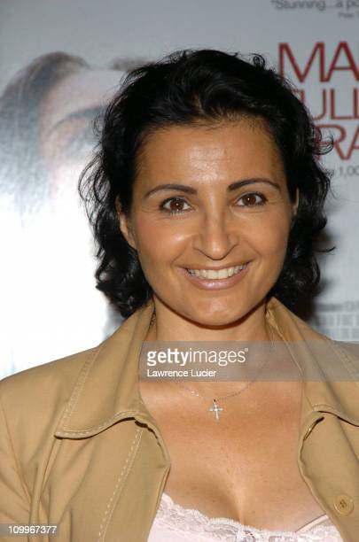 Kathrine Narducci during Maria Full Of Grace New York Premiere at AMC Empire Theater in New York City New York United States