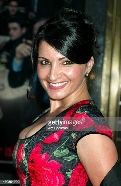 Kathrine Narducci during The Sopranos 4th Season Premiere at Radio City Music Hall in New York City New York United States