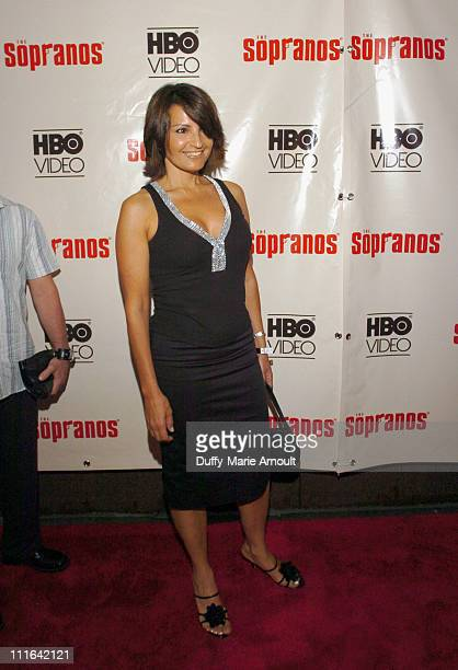Kathrine Narducci during The Sopranos The Complete 5th Season DVD Release Party Hosted by HBO Video at English is Italian in New York City New York...