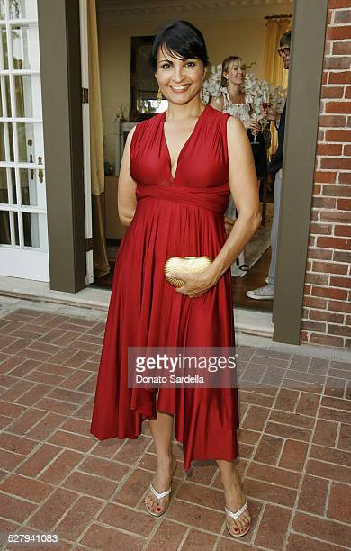 Kathrine Narducci during Yves Saint Laurent Cruise 2008 Collection Preview at Private residence in Bel Air California United States