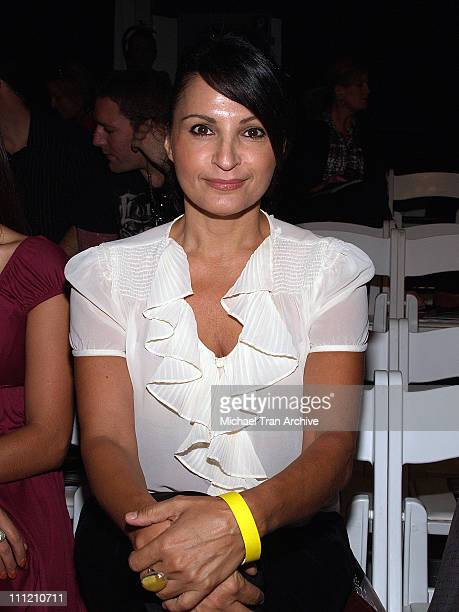 Kathrine Narducci front row at Italian Trade Commission Spring 2007