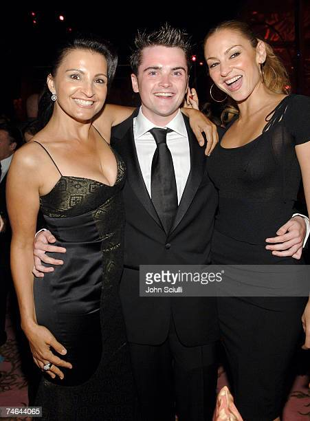 Kathrine Narducci Robert Iler and Drea de Matteo at the Pacific Design Center in West Hollywood California
