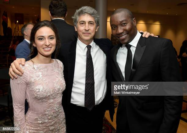 Kathryn Aboya Alexander Payne and Warren Belle attend the 'Downsizing' special presentation screening during the 2017 Toronto International Film...
