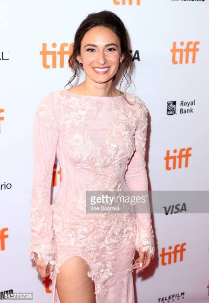 Kathryn Aboya attends the Downsizing premiere during the 2017 Toronto International Film Festival at The Elgin on September 11 2017 in Toronto Canada