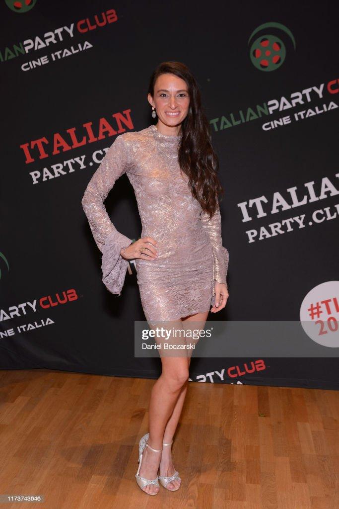 Italian Party Club At TIFF 19 : News Photo